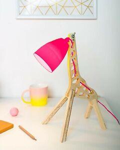 DESIGNERS DECORATIVE 3D LED LAMP GIRAFFE  USB OR POWER ADAPTOR VERY RARE MATAGA