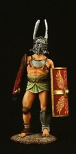 ELITE TIN SOLDIER: Roman Gladiator Provocator 54 mm,metal sculpture.