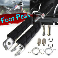 Motorcycle Footrest Foot Pegs Kit For Honda 600 VTX 1300 Yamaha Suzuki Kawasaki