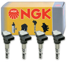 4 pcs Ngk 48843 Ignition Coil for U5003 673-9300 Ic531 Uf411T E891 Uf411 rs
