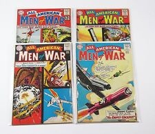 All American Men of War;4 issue lot 95,97,98,99 VG+ (DC comic) Silver Age War SB