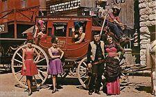 c1960s Front Street Western Showgirls, Ogallala, Nebraska Postcard