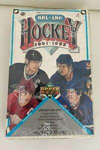 1991-92 Upper Deck Hockey High Series Sealed Wax Box - (36) Packs