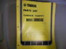Yamaha Parts List Manual 1976 LB80IIAC Chappy