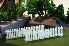 Goodwood style paling / picket fencing X2 for Scalextric or Slotcar tracks. 1:32