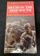 Drums In The Deep South VHS Tape James Craig, Guy Madison NEW UNOPENED FREE SHIP