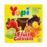 Yupi Gummy Candies Fruit Cocktail Real Fruit Juice + Vitamin C Gelatin Fruit 32g