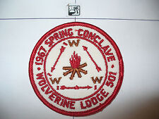 OA Wolverine Lodge 501,1967 Spring Con,pp,61,156,194,635, Kettle Moraine Cncl,WI