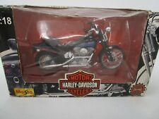 (508) Maisto 1:18 scale Harley Davidson Motorcycle Bad Boy
