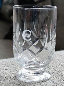 1 x British Airways Concorde Licquer Sherry Glass Crown Design