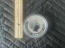 Australian Kookaburra Giant 10oz Coin -2015- 25th Anniv, 1990-2015- ( Rare )