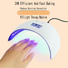 USB 24W LED Drying Curing Machine Tool UV Nail Dryers Light Lamp Polish Gel US