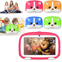 7'' Kids Tablet Android Quad Core 8GB Dual Camera WiFi iPad For Education Games