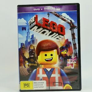 The Lego Movie (DVD, 2014) R4 Movie Good Condition Free Tracked Post