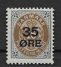 Denmark. 35/16 øre. MH. (ref 021)