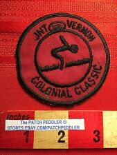 Vtg Swimming (Or Diving Maybe?) Patch ~ JNT VERNON CLASSIC COLONIAL C63I