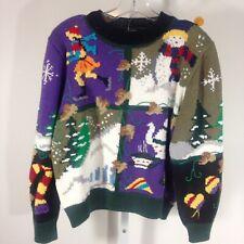 Vintage Berek Sweater Medium M Winter Novelty