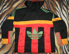 vintage Germany Adidas hoodie track bottoms hooded stripes firebird  size M D6