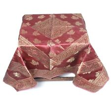 Silk Brocade Table Runner For Wedding Party Banquet Famous Linen Table Cover
