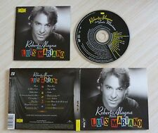 CD DIGIPACK ROBERTO ALAGNA CHANTE LUIS MARIANO VERSION  12 TITRES + 4 BONUS 2006