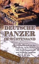 Deutsche Panzer im Wüstensand-Erinnerungen an das Deutsche Afrika-Korps