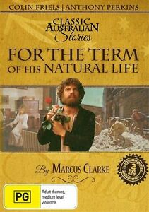 For The Term Of His Natural Life   Classic Australian Stories (DVD) NEW/SEALED