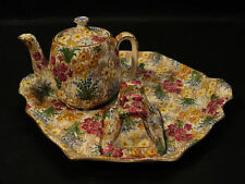 "ROYAL WINTON ""MARQUERITE"" CHINTZ PARTIAL BREAKFAST SET"