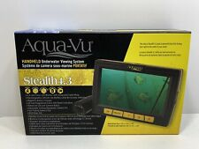 Aqua-Vu Micro Stealth 4.3 Underwater Camera Viewing System, NEW MUST SEE!