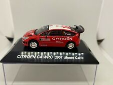 CMS 1:64 Citroen C4 WRC 2007 Loeb Monte Carlo