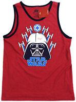 Mens Tank Top Large Darth Vader Star Wars Muscle Shirt