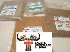 Biltong Spice Seasoning 200g SPICY CHILLI Spice CONCENTRATED - GLUTEN & MSG Free