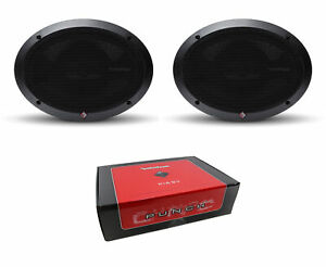 "Pair of Rockford Fosgate Punch 6x9"" 300W 4-Way 4 Ohm Full Range Speaker P1694"