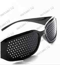 Fashion Pinhole Glasses Eyesight Vision Improve Sunglasses Eyeglasses Eyewear Mo