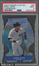 2000 Stadium Club 3X3 Luminescent #6B Derek Jeter Yankees PSA 9 MINT