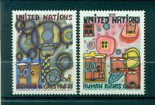 """Nations Unies New York 1983 - Michel n. 438/39 - """"Droits de l'Homme"""""""