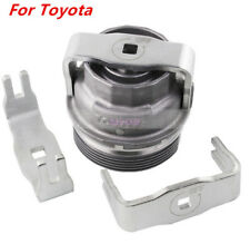 Silver Steel Special Oil Filter Wrench Removal Socket Tool Large Size For Toyota