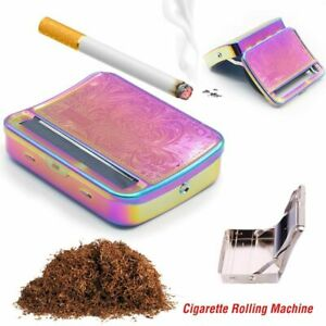 Metal S-automatic Cigarette Rolling Machine Manual Tobacco Roller Hand Maker Kit