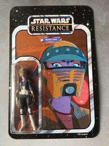 Star Wars - Resistance - Custom Carded Synara San
