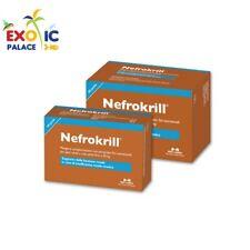 NEFROKRILL 30 60 PERLE PER CANI E GATTI MANGIME COMPLEMENTARE FUNZIONE RENALE