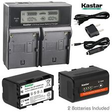 2 xBP-U30 Battery & LCD Dual Charger for Sony PMW-EX3R PMW-EX160 PMW-EX260 HD422
