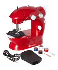 Sewing Machine Portable Handheld Mini Electric Drop In Bobbin Pedal Included