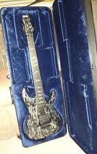 SCHECTER C-7 SILVER MOUNTAIN Seven String Sustainiac Electric Guitar + Hard Case