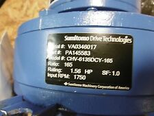 New Sumitomo Drive Cyclo 6000 PA145583 1:165 1.56HP 1750RPM CHV-6135DCY-165
