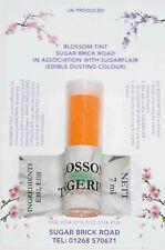 Sugarflair Tangerine Blossom Tinta In Polvere, 7ml, Commestibile Per Cibo Colore Polvere