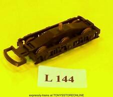 l144) lima oo s/h spares cl50 trailing non-motorised wheeled bogie nr xclnt