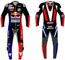 BMW MOTORRAD  MOTORBIKE RACING LEATHER SUIT CE APPROVED