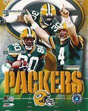 Brett Favre - Ahman Green - Donald Driver Green Bay Packers picture 8x10 photo