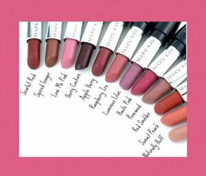 Set of 2 Mary Kay Gel Semi Matte Lipstick ~ Rich Truffle ~ FREE SHIPPING FAST