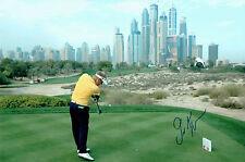 Soren KJELDSEN 12x8 Photo Signed Autograph Dubai Desert Classic Golf AFTAL COA