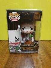 💕💖 Batman DC Funko Pop The Joker Is Wild Exclusive #292 + Protector 💖💕